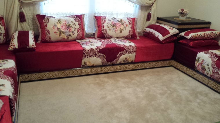 Traditional Handmade Couch